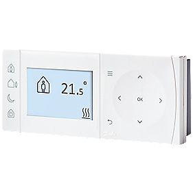 danfoss tpone b 087n9519jd programmable room thermostat. Black Bedroom Furniture Sets. Home Design Ideas