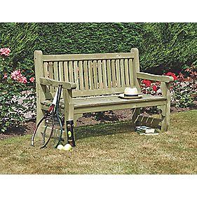 Rowlinson Softwood Garden Bench Softwood 1500 X 670 X