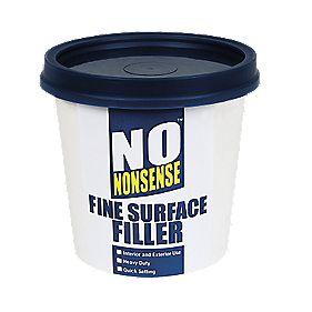 No Nonsense Fine Surface Filler White 600g Multi Purpose Fillers