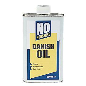 No Nonsense Danish Oil Clear 500ml Danish Oil