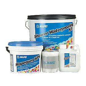 Mapei Shower Waterproofing Kit Sealant Kits Screwfix Com