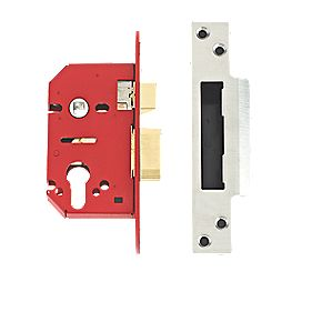 Union Stainless Steel Euro Profile Mortice Lock 68mm Case
