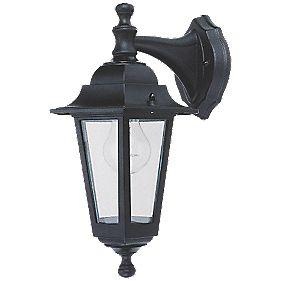 Coach 60w Black Hanging Lantern Wall Light Outdoor Wall
