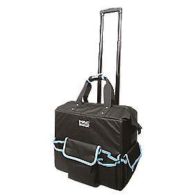 mac allister hard base tool bag with wheels 18 tool. Black Bedroom Furniture Sets. Home Design Ideas