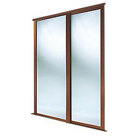 Spacepro Shaker 2 Door Framed Sliding Wardrobe Mirror