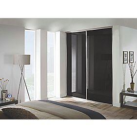 Spacepro Classic 2 Door Framed Glass Sliding Wardrobe
