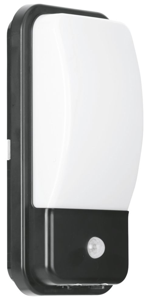 Enlite UtiliteX PIR Security Bulkhead Black 880lm 10W