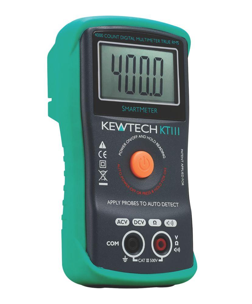 Kewtech KT111 Digital Multimeter 500V