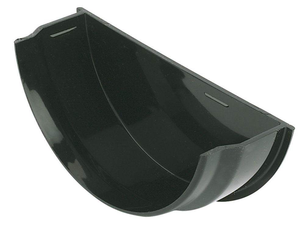 FloPlast  Internal Stop End 112mm Black