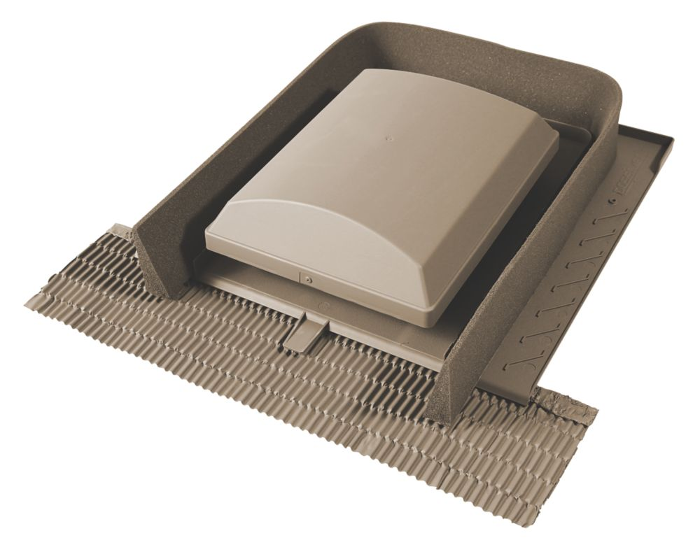 Glidevale Universal Tile Ventilator Brown