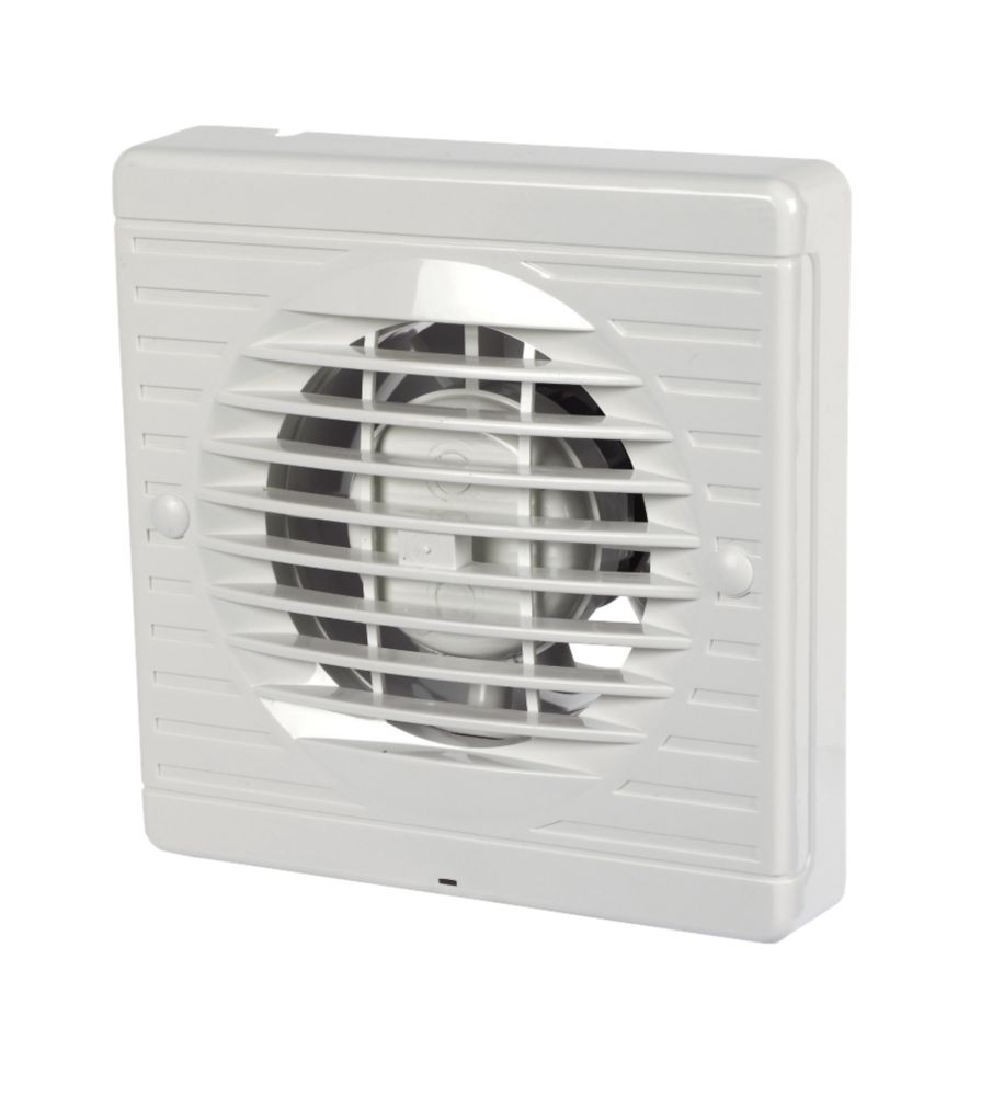 Manrose XF100S 15W Bathroom Extractor Fan  White 240V