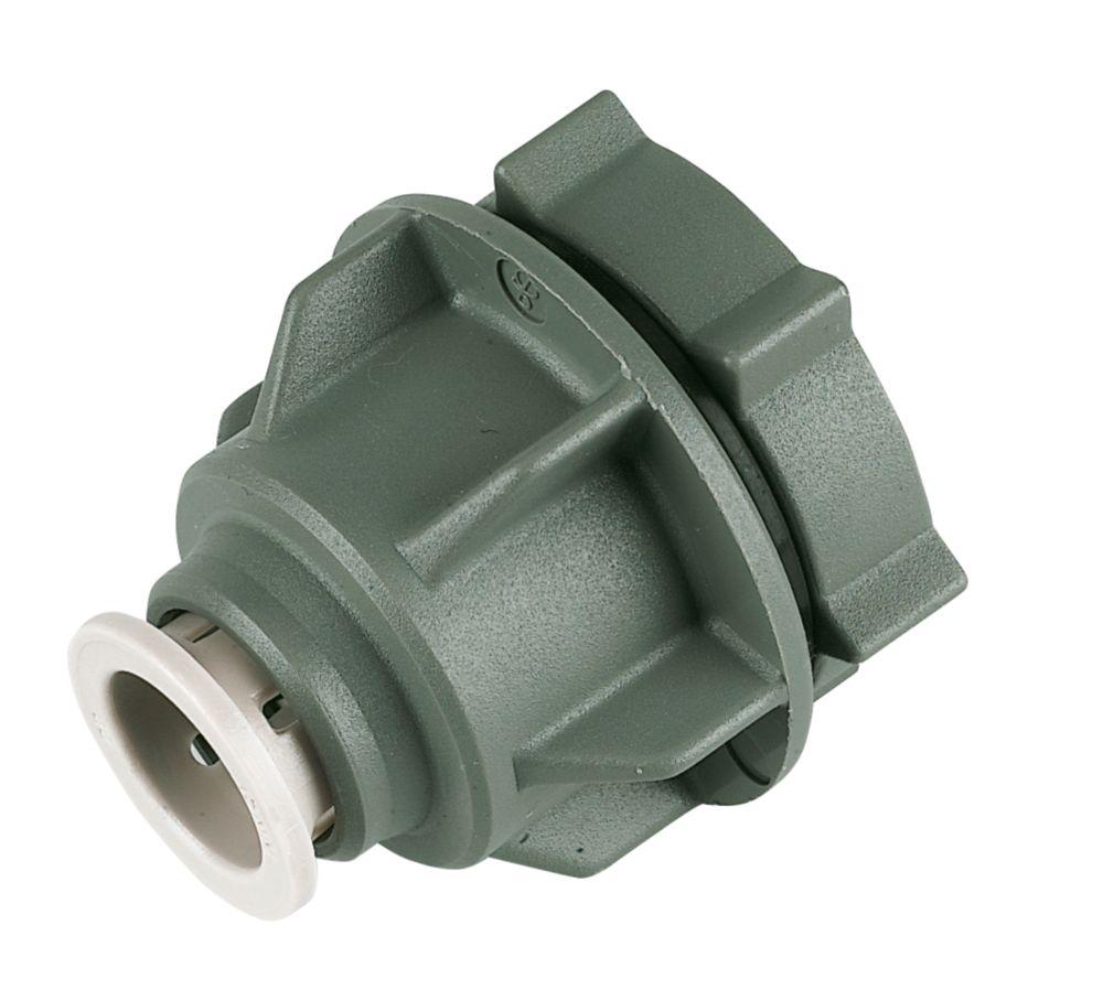JG Speedfit  Plastic Push-Fit Tank Connector 15mm