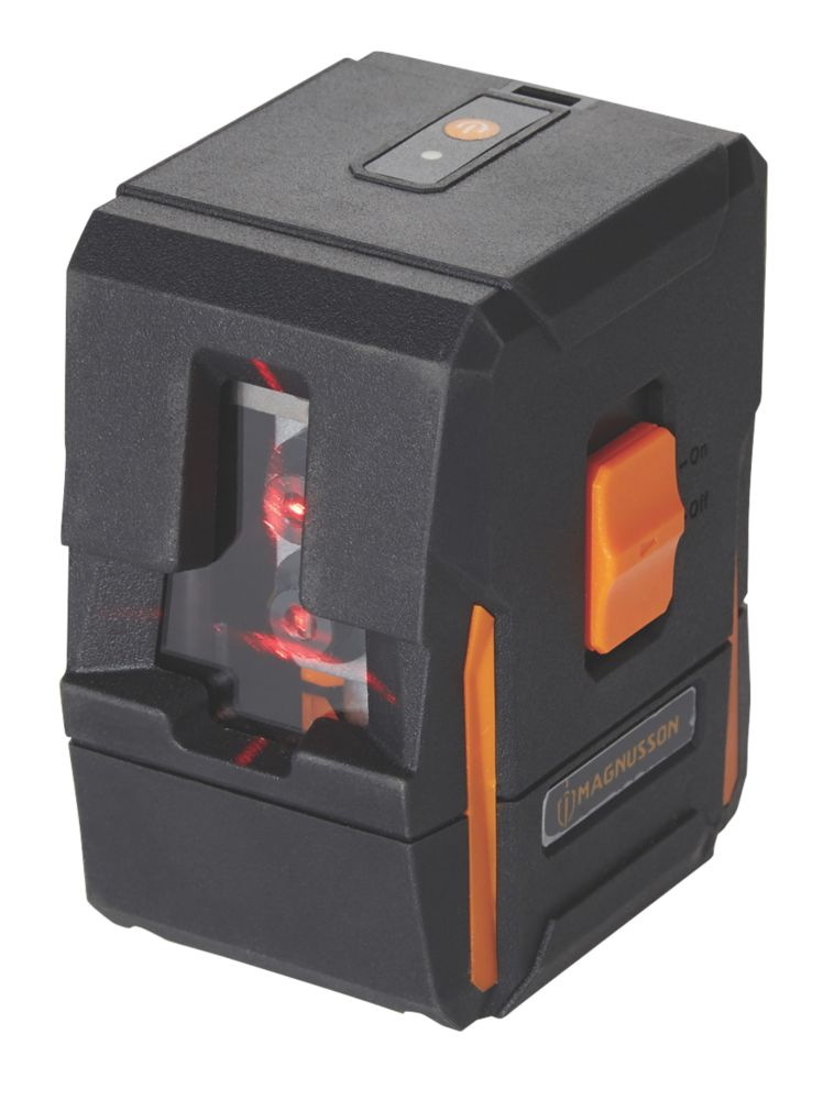Magnusson IM0301 Red Self-Levelling Cross-Line Laser Level