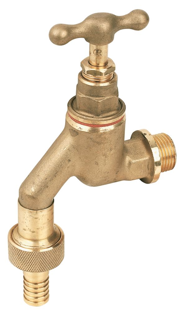 "Pegler HU Bib Tap with Check Valve ½"" x ½"""