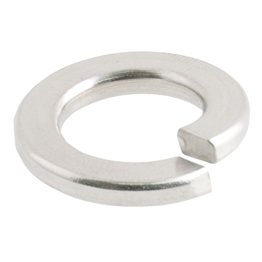 Easyfix A2 Stainless Steel Split Ring Washers M6 x 1.6mm 100 Pack