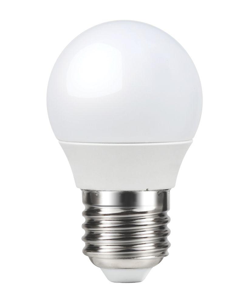 LAP  ES Mini Globe LED Light Bulb 250lm 3.3W 3 Pack