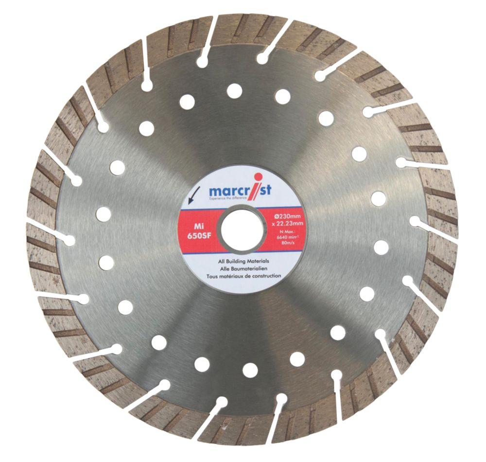Marcrist  Concrete/Stone Segmented Diamond Blade 230 x 22.2mm
