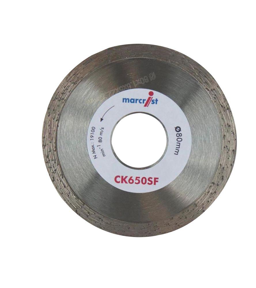Marcrist  Tile CK650SF Diamond Tile Blade 80 x 22.2mm