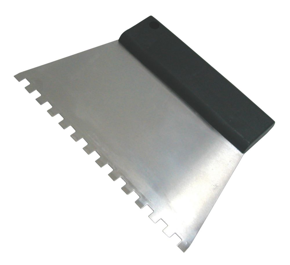 Notched Tile Adhesive Comb