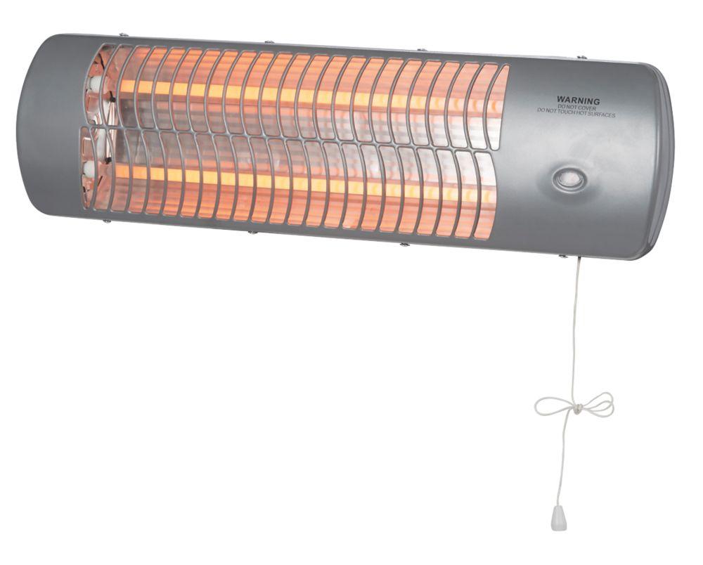 MH-10-1 Wall-Mounted Quartz Heater 600 / 1200W
