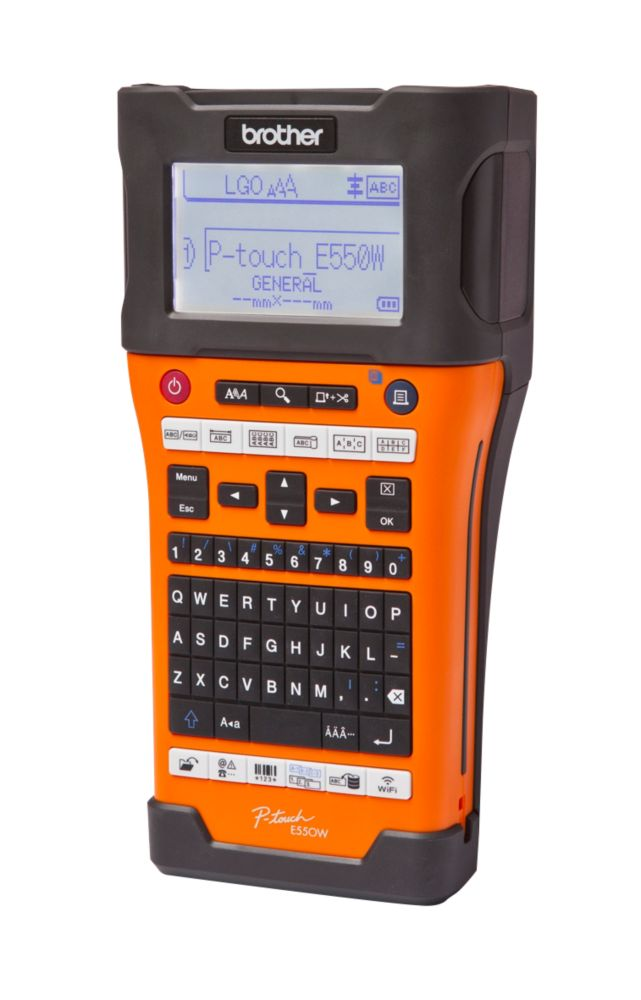 Brother PT-E550WVP Hand-Held Label Printer