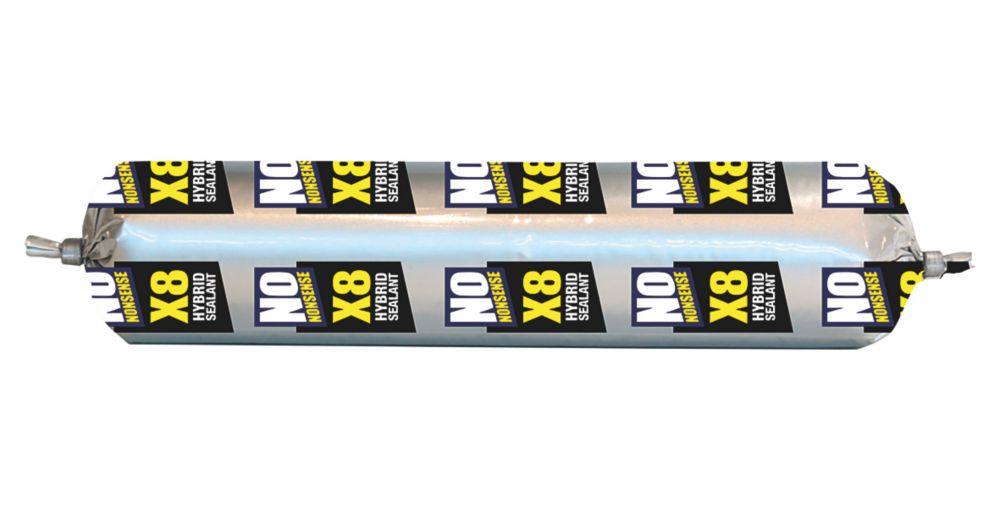 No Nonsense X8 Hybrid Sealant & Adhesive Black 400ml