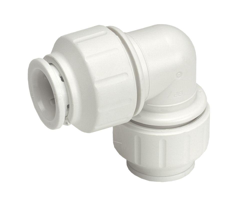 JG Speedfit  Plastic Push-Fit Equal 90° Elbow 22mm