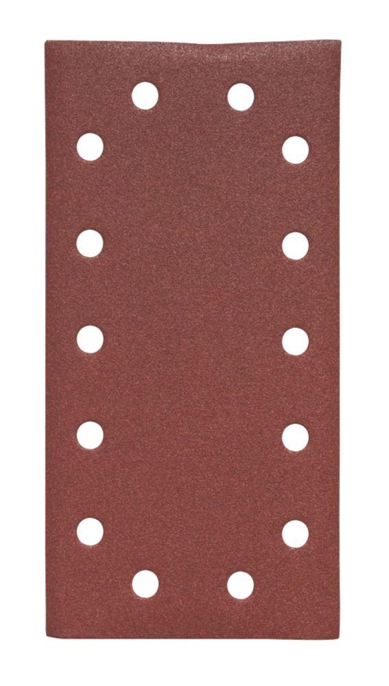 Flexovit Orbital ½ Sanding Sheets Punched 230 x 115mm 120 Grit 5 Pack