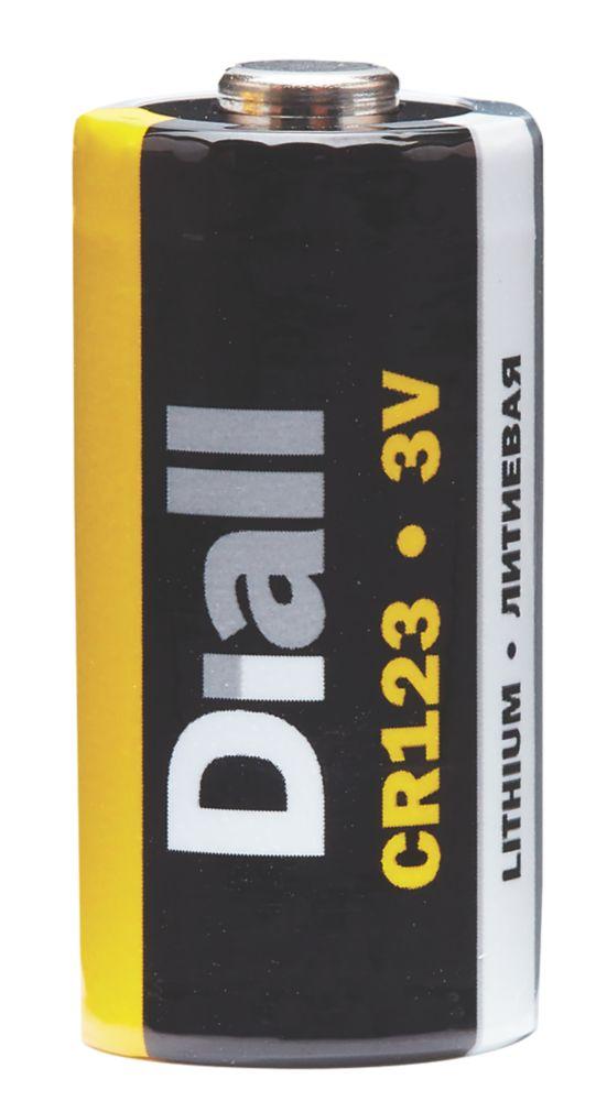 Diall 6205960401 CR123 Battery