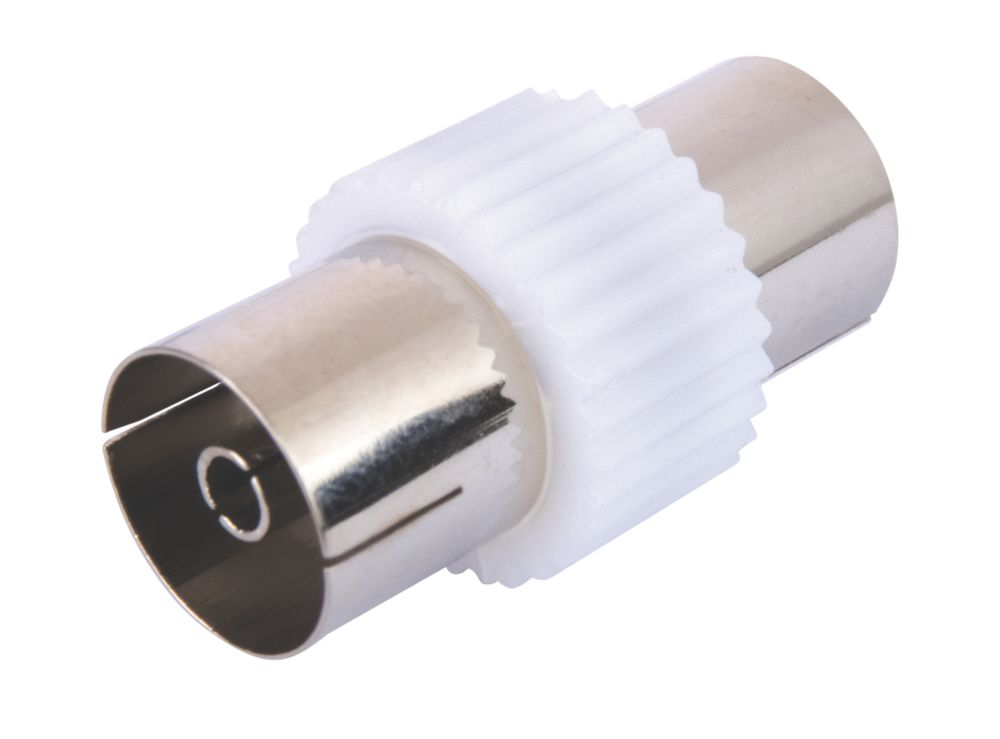 Coaxial Cable Coupler Female Pack of 10
