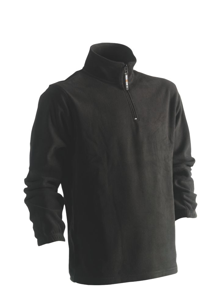 "Herock Antalis Fleece Sweatshirt Black Medium 44"" Chest"