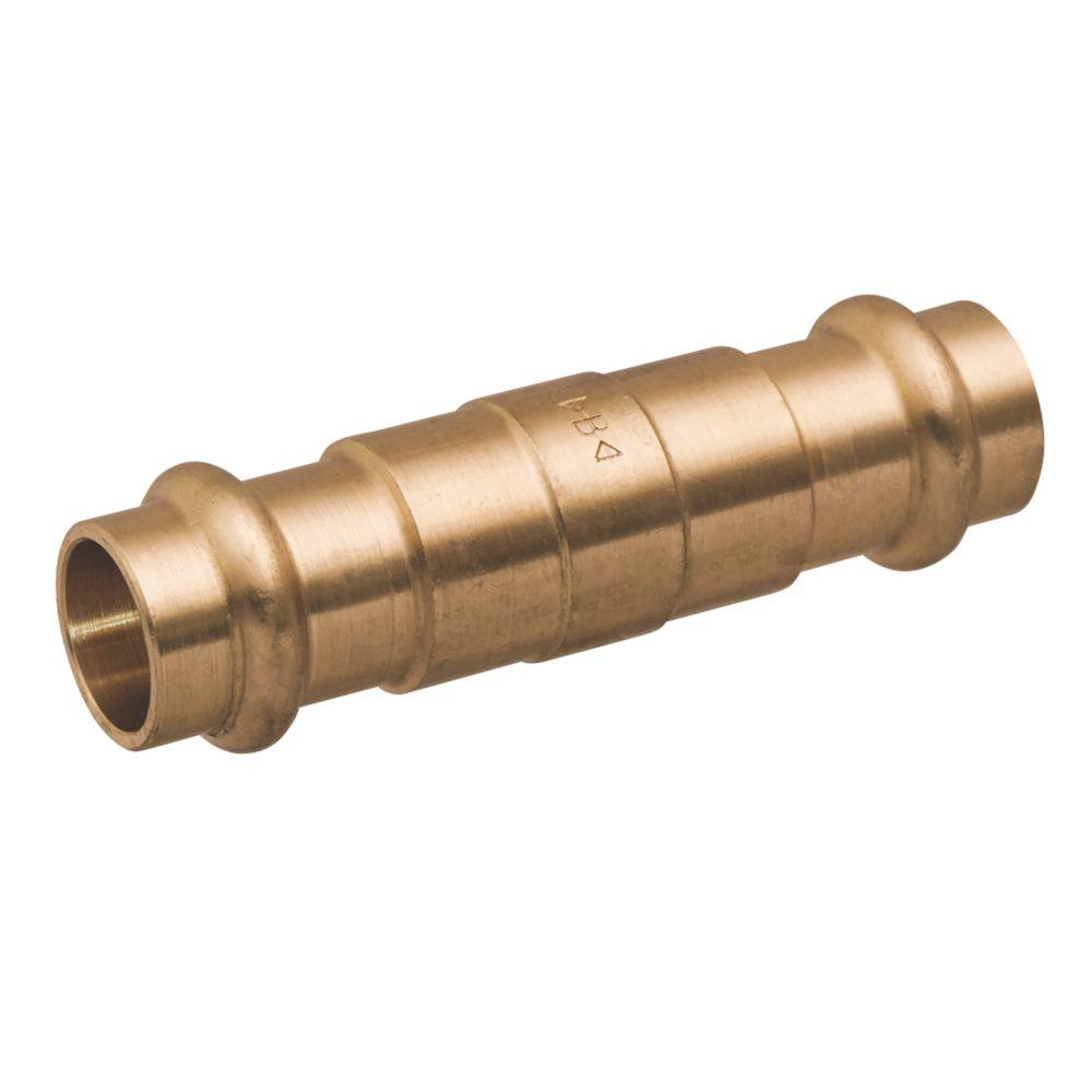 Conex Banninger B Press  Copper Press-Fit Equal Slip Coupler 15mm 5 Pack
