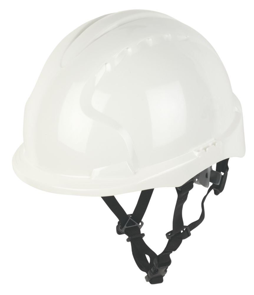 JSP EVO 3 Linesman Safety Helmet White