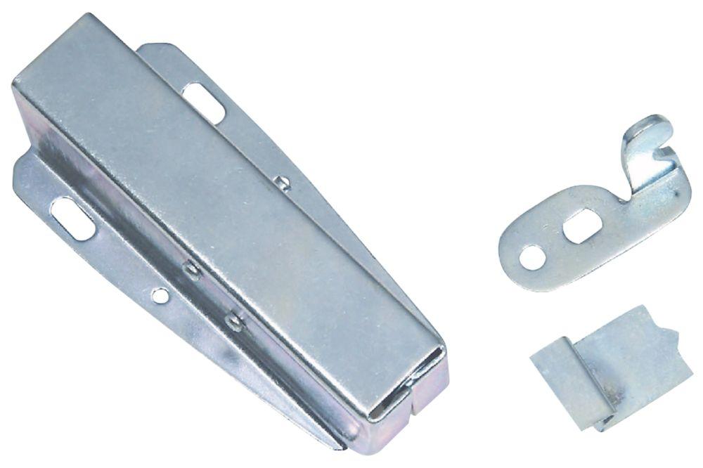 Hardware Solutions Loft Latch Silver 35mm