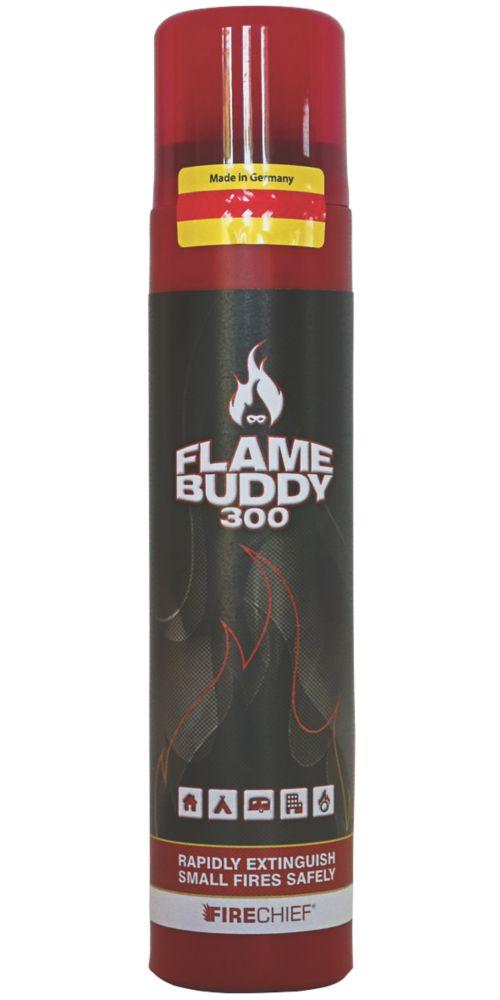 Firechief Flame Buddy 300 Wet Chemical Aerosol Fire Extinguisher Spray 300ml