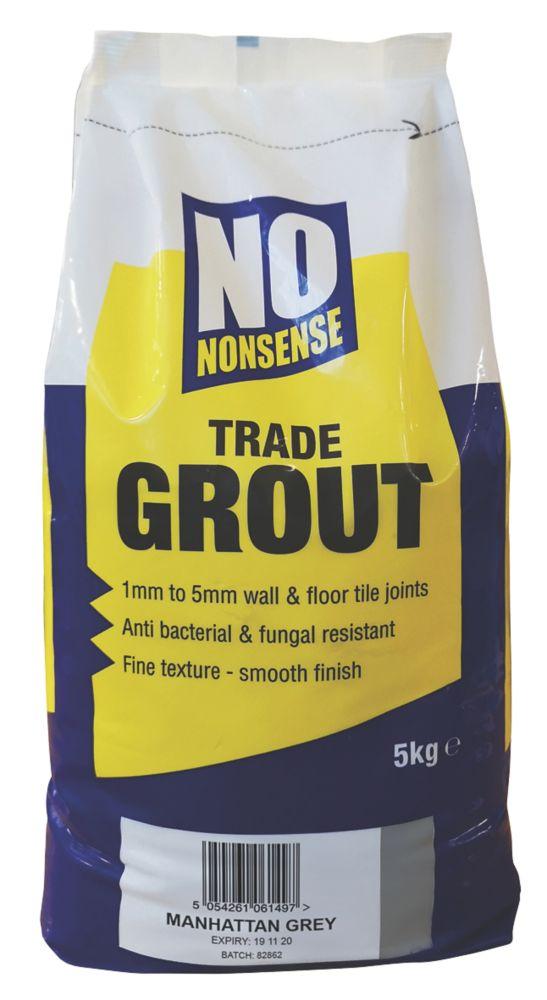 No Nonsense  No Mould Grout Manhattan Grey 5kg