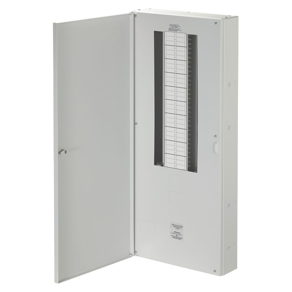 Wylex NH 20-Way Meter Ready 3-Phase Distribution Board