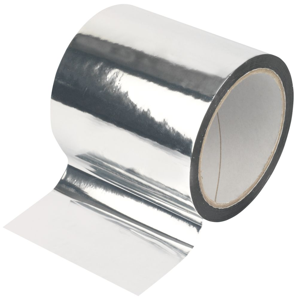Diall Insulation Board Tape Silver 45m x 100mm
