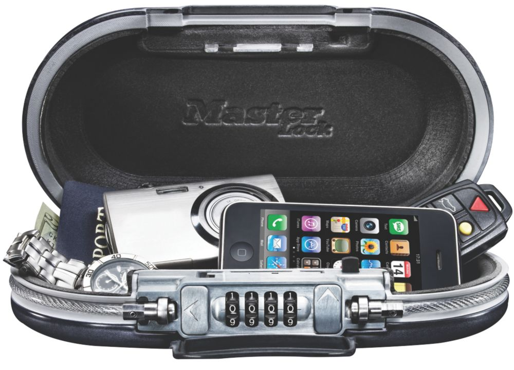 Master Lock Water-Resistant Combination Portable Safe
