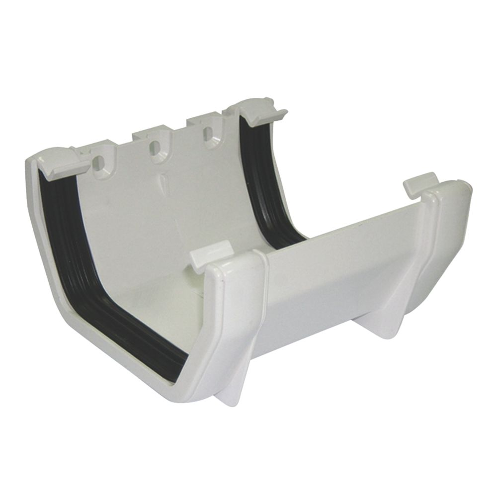 FloPlast Square Line Union Bracket 114mm White