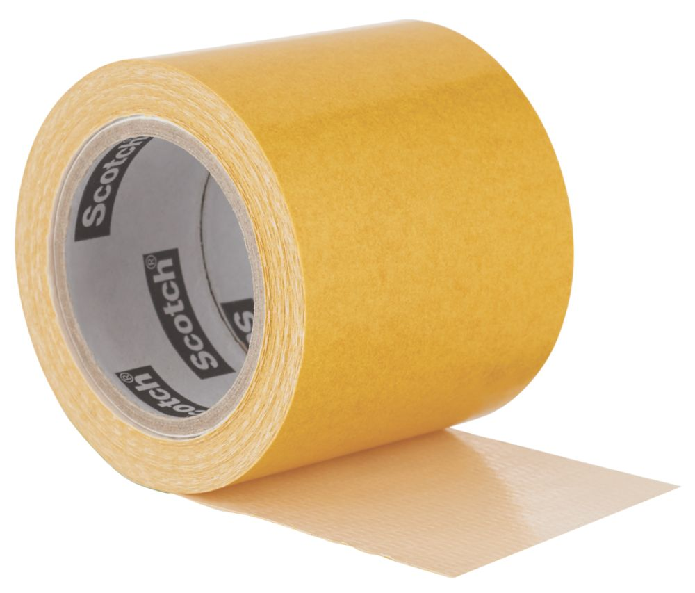 3M No Residue Carpet Tape Clear 7m x 50mm
