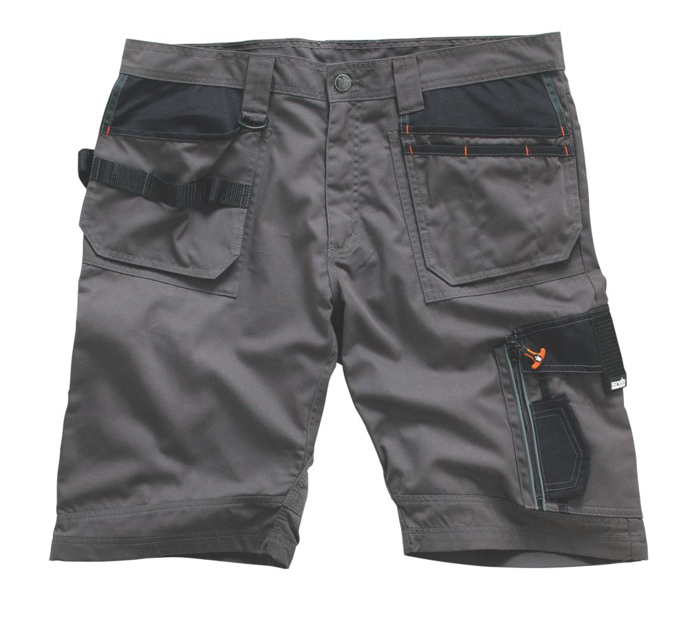 "Scruffs 3D Trade Shorts Slate 40"" W"