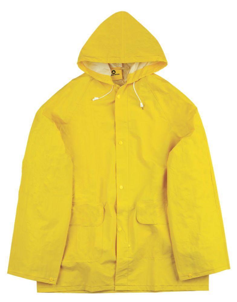 "Endurance Rainmaster 2-Piece Waterproof Rain Suit Yellow Medium 40"" Chest"
