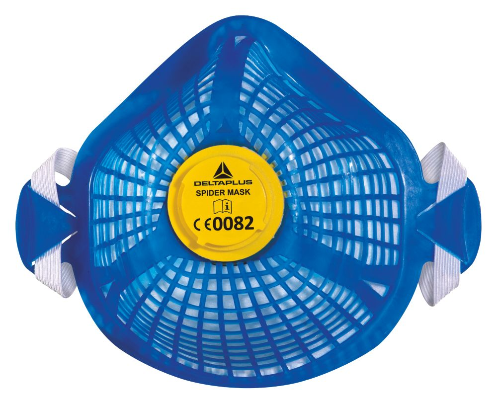 Delta Plus Spidermask Reusable Dust Mask with 5 Filters P2
