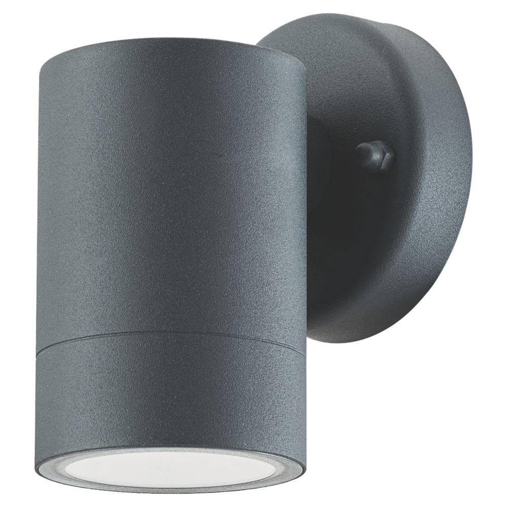 LAP  Charcoal Grey Outdoor Wall Light 5.3W