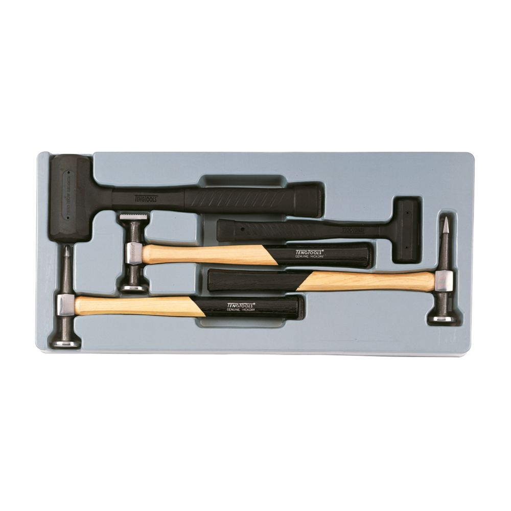 Teng Tools TTPSAD Bodywork Hammer Set 5 Pieces