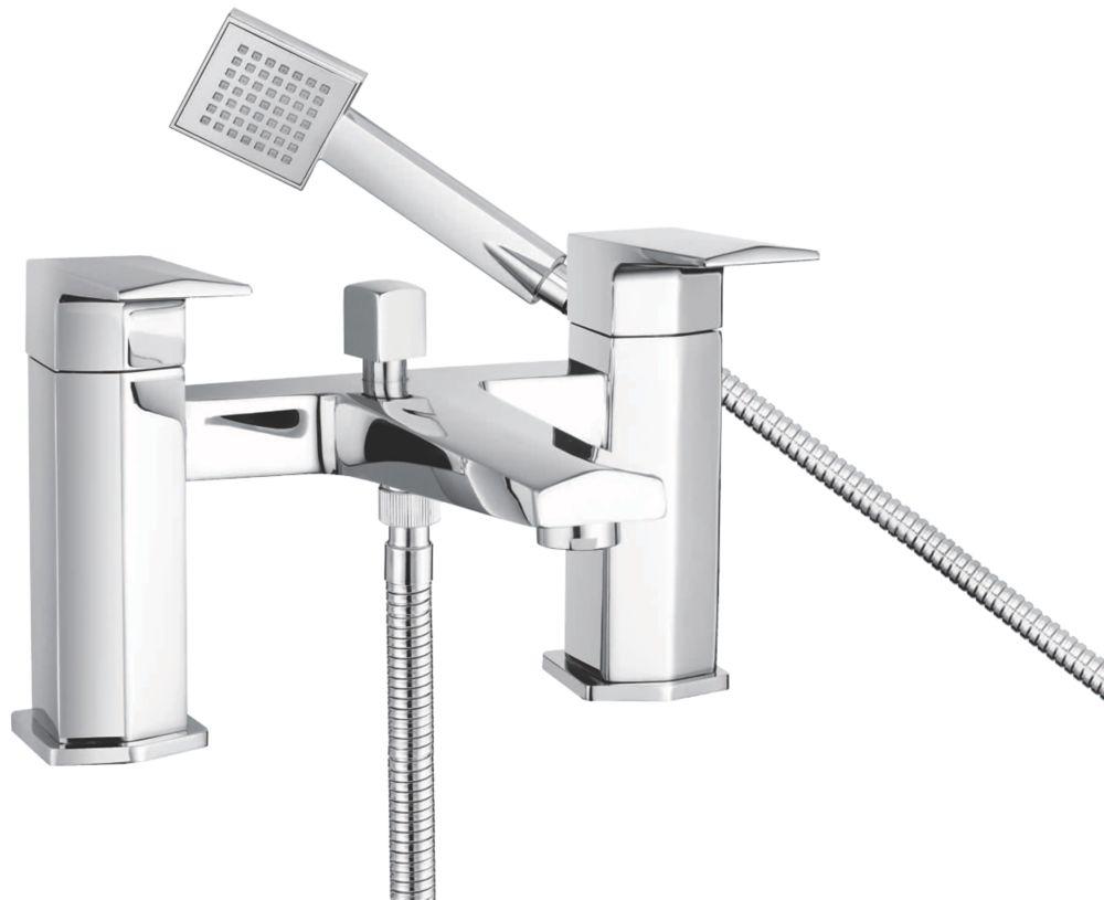 Bristan Elegance Deck-Mounted  Bath Shower Mixer Tap