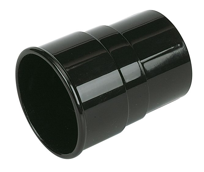 FloPlast  Down Pipe Socket 68mm Black