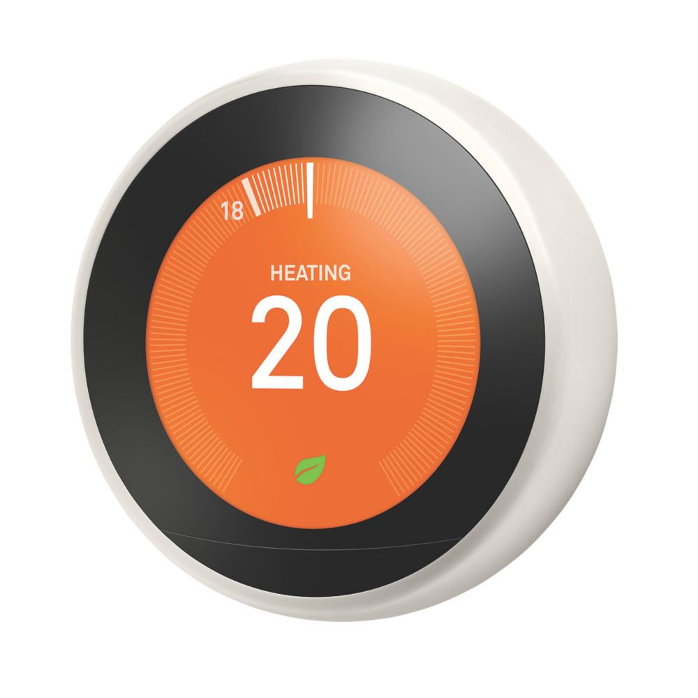 Google Nest Smart Thermostat & Hot Water Control White