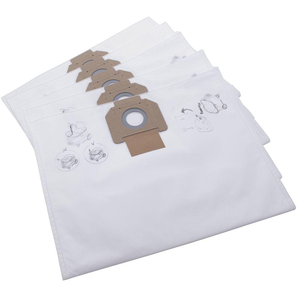 Nilfisk Attix 33/44 33-2L IC 107413547 Vacuum Fleece Filter Bags 5 Pack